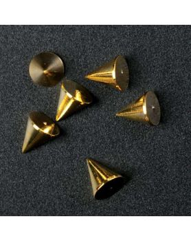Nail Decor Cone (Gold)