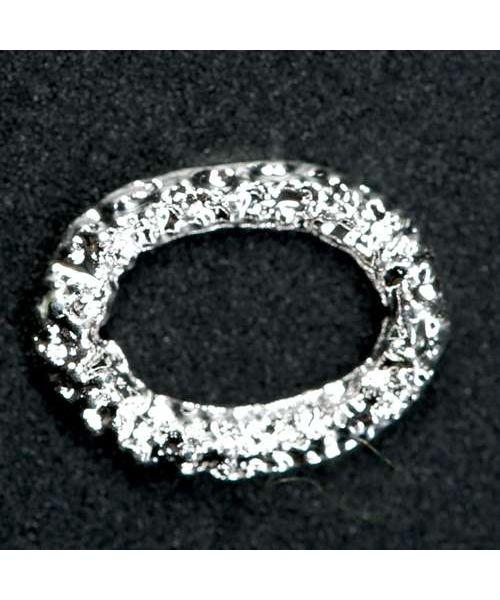 Nail Decor Oval (Silver)