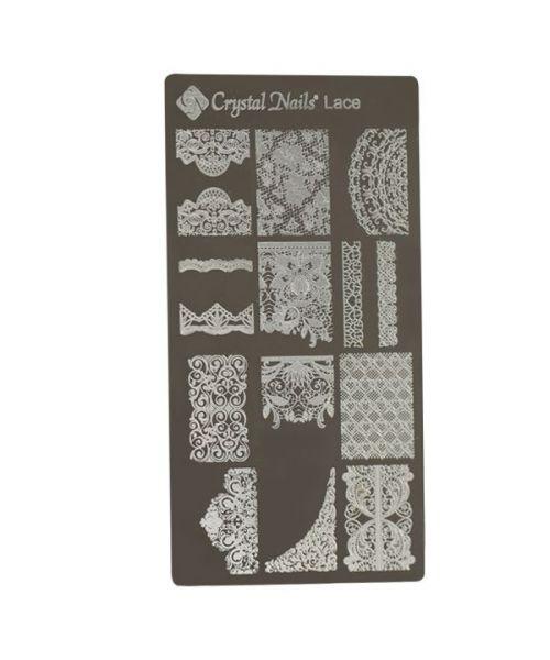 Stencil Plate - Lace