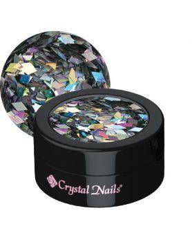 Nail decoration glitter holo silver