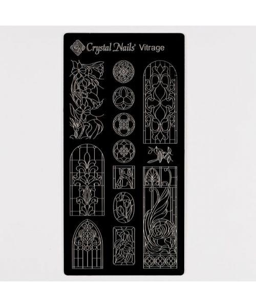 Stencil Plate - Vitrage