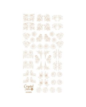 Water Decal - Blooming Gold