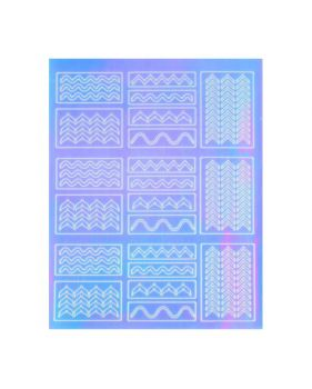Nail Sticker - Mirror 4