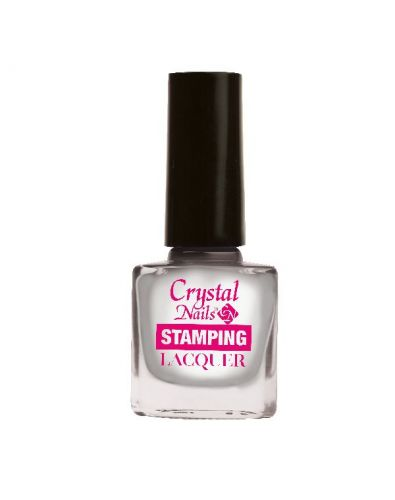 Stamping Lacquer - Chrome Silver (4ml)