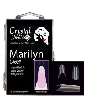 Marilyn Clear Tip Box/ Clear