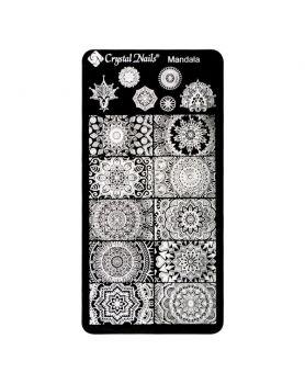 Stencil Plate - Mandala