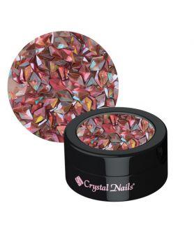Decor Glitter 3D Peach