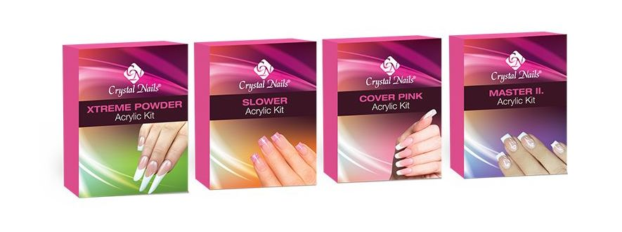 Acrylic Nail Sculpting & Colour Kits
