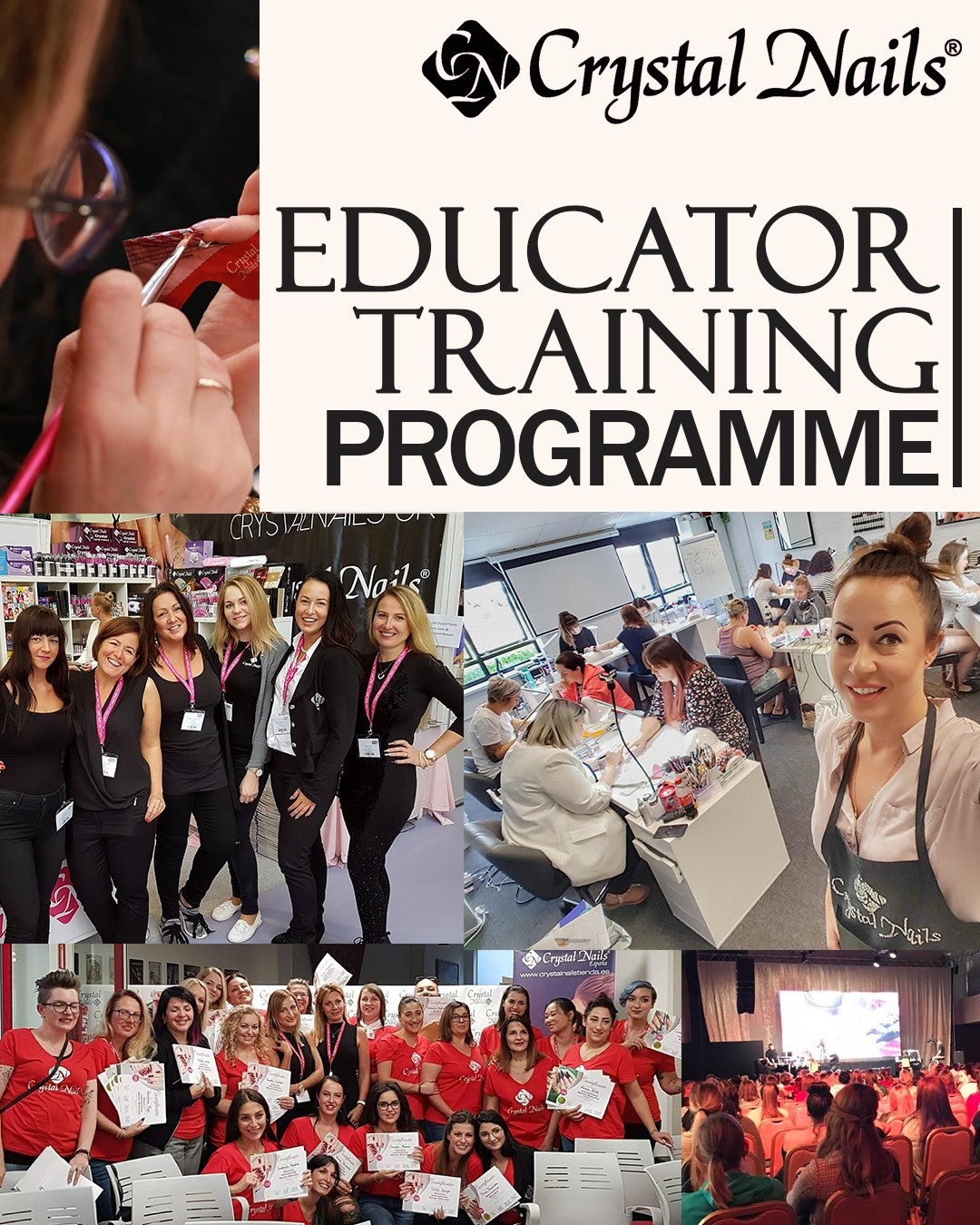 Crystal Nails Educator Programme