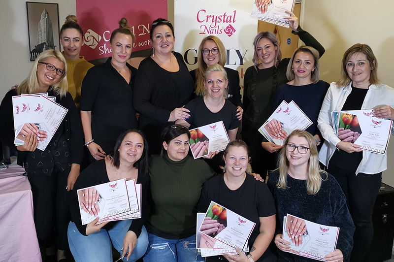 Crystal Nails Educator Course 2019